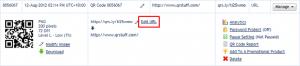 Editing A Dynamic QR Code With QRStuff.com