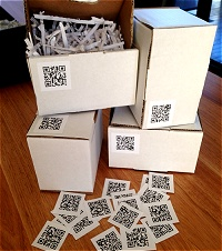 Make QR Code Labels & Stickers