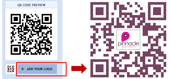 Add A Logo Or Image To Your QR Code - QRStuff com