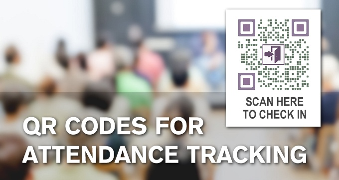 QR Codes For Attendance Tracking - QRStuff com