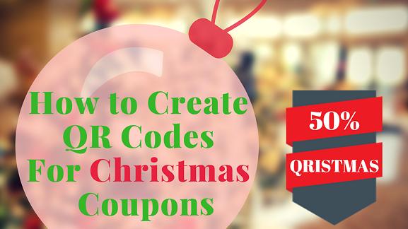 How To Create Christmas Coupon Qr Codes Qrstuff Com