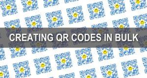 Bulk QR Codes
