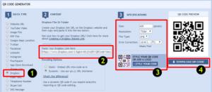Dropbox Video QR Code