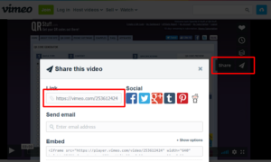 Vimeo Video QR Codes