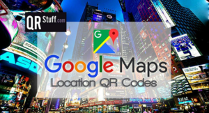 QR Codes For Google Map Locations