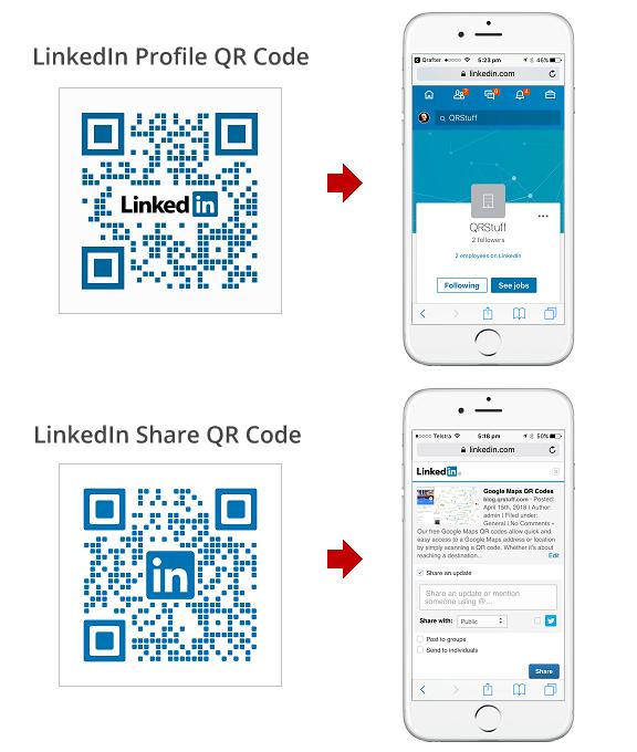 Free LinkedIn QR Code Generator