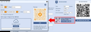 QR Codes For Bitcoin