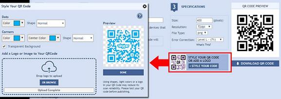 Skype QR Code Generator