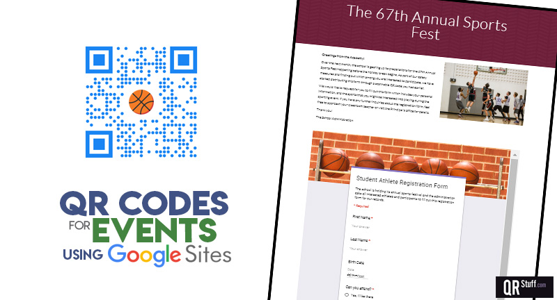 QR Codes For Event Sign-Up Pages - QRStuff com
